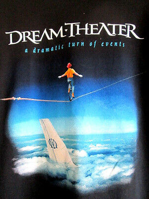 DREAM THEATER...A DRAMTIC TURN OF EVENTS...TOUR...T-SHIRT...NEW...sz XL