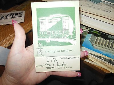 Vintage The Drake, Chicago IL Advertising Brochure