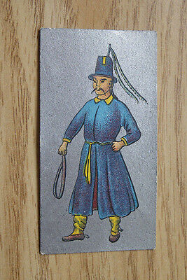 Ancient Chinese Cavanders Cigarette Card 1926 No 7
