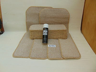 Stair pads / treads 18 off and 2 Big Mats with a FREE  can of SPRAY GLUE 1010-1
