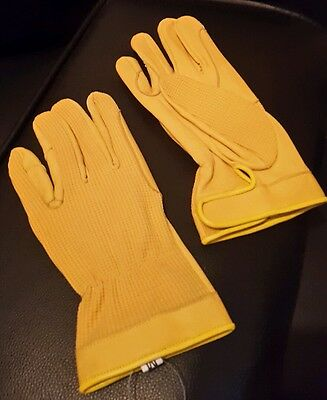 Horse riding gloves soft material with leather medium