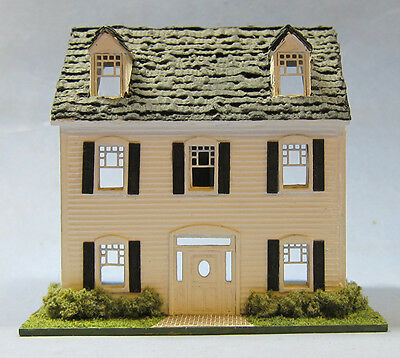 1/144th Scale Colonial House kit designed by sdk miniatures LLC