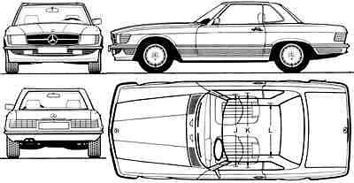 Manuale Officina Mercedes Benz W 107 123 124 126 129 140 201 My 1981-1993 E-Mail