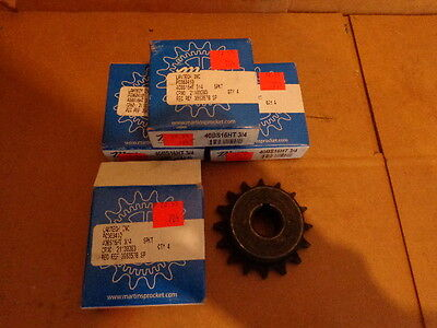 (4) NEW Martin 40BS16HT Sprockets