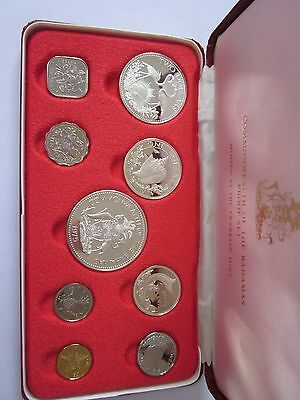 KMS Bahamas 1975 PP,  Commonwealth of the Bahamas Proof Set 1975