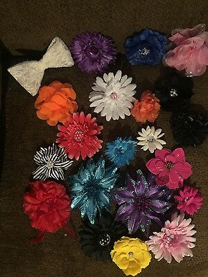 Lot of 20 dance hair accessories (flowers)