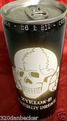 2008 Zyklon-B Energy Drink FULL Mint Cond RARE 8.4 Oz For Collectors Exp 2011