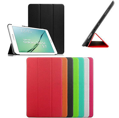 Smart Cover Slim Per Samsung Galaxy Tab S2 9.7 2016 Sm-T819 Custodia Tablet