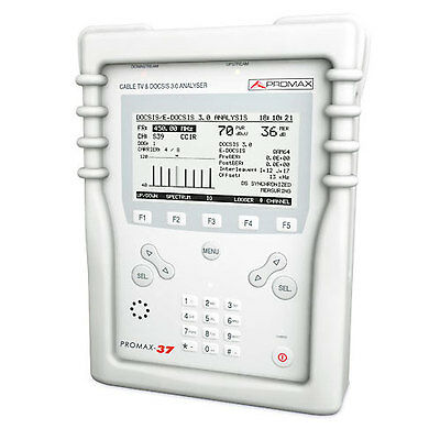 Promax PROMAX-37L Cable Systems Analyzer Cable TV & Data Analyzer