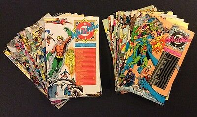 WHO'S WHO THE DEFINITIVE DIRECTORY DC UNIVERSE #1-26 Comic Books Superhero Bios