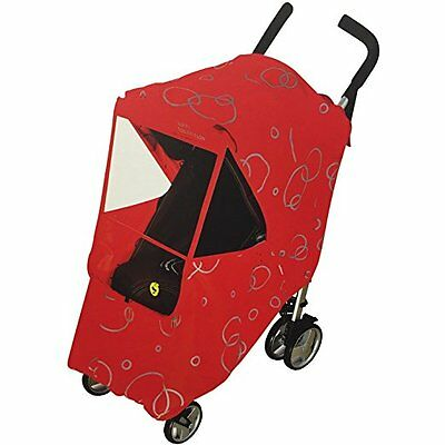 Hippo Collection Universal Stroller Weather Shield - Red