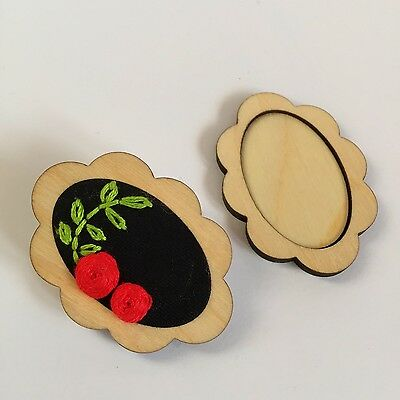 Brooch Blank Embroidery Mini Hoop