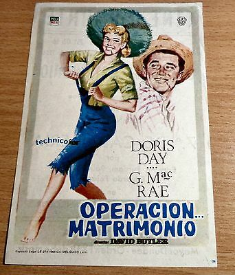 Doris Day By The Light Of The Silvery Moon & April In Paris Spanish mini posters