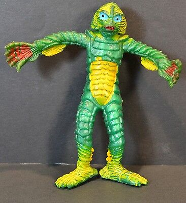 """Vtg Rare 1974 AHI Universal Monsters Creature From The Black Lagoon 5"""" Bendy"""