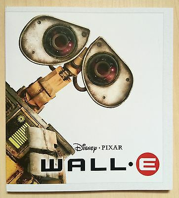 Disney / Pixar WALL-E Animation Movie (2008) - Japanese Press Book - Press Kit