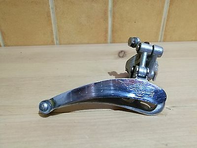 vintage Campagnolo Nuovo Record / Victory front derailleur clamp on