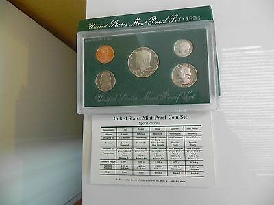 KMS USA1994 PP,  Coin Set USA 1994 Proof, United States Proof Set 1994
