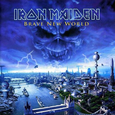 2 lp 180 gr black gatefold IRON MAIDEN BRAVE NEW WORLD limited edition rsd 2016
