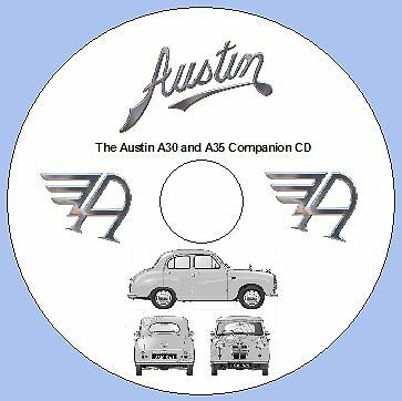 The Austin A30 and A35 Workshop Manual / Companion CD