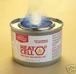HEAT CELL Eco Canned Fuel Camping/Outdoors/Emergency