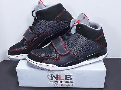 new lower prices lower price with new style NIKE AIR JORDAN Flight Club 90s Retro Black/Gym Red 602661-004 Men ...