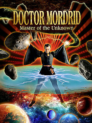 Doctor Mordrid Master of the Unknown DVD, Starring Jeffrey Combs, Charles Band