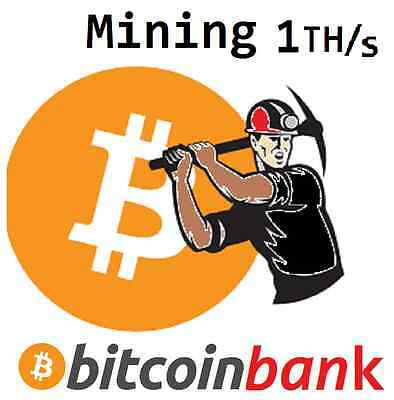 BITCOIN Mining 1TH/s Six Month Contract 0.159 BTC Direct-Wallet Crypto-Currency