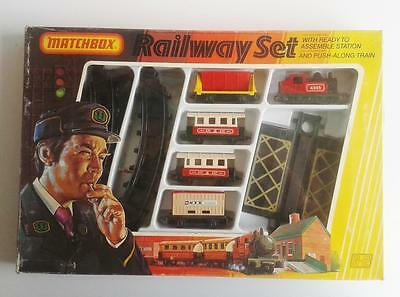 Matchbox Lesney Original Railway Train Set G-2 - Complete With Box & Packaging