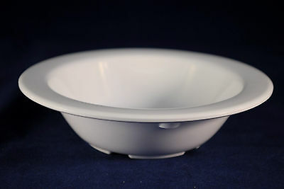 16 Dz  MELAMINE 4 OZ FRUIT Dessert Side Salsa Monkey Dish Bowl   White   DN-335