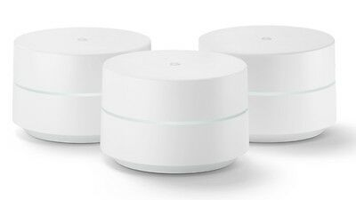 Google WIFI System 3 Pack - Router Replacement For Whole Home Coverage