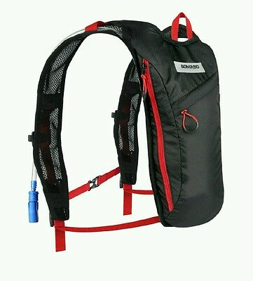 Aomaso Hydration Pack with 2L Backpack Water Bladder. Fits Men and Women with Ch