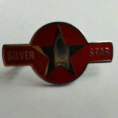 silver star cap / lapel badge   NOW REDUCED IN PRICE!!!!!!!!!