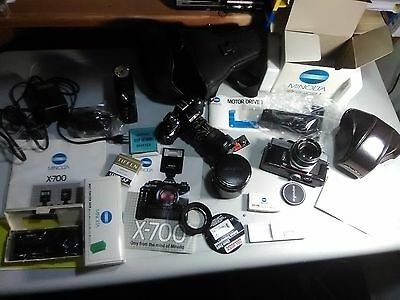 SLR Camera Mixed lot Cameras and everything Professional Equipment