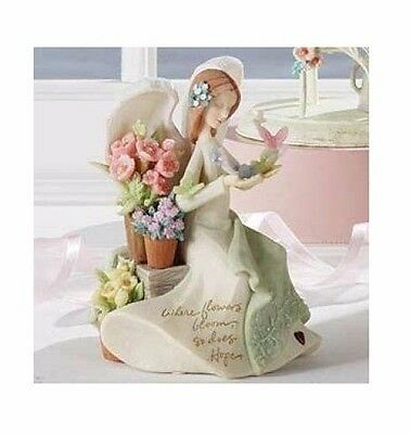 Enesco Foundations Angel with Butterflies Musical 4009066 Brand New in Box