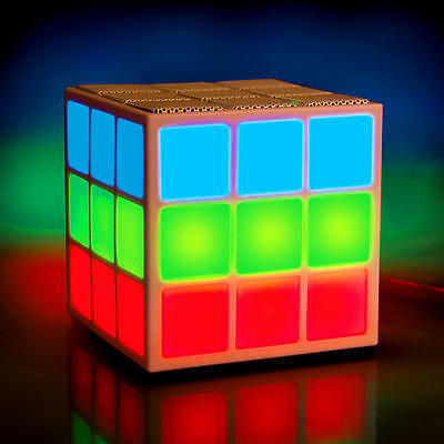 Brand New MOBI Cube Bluetooth Speaker with 360 Degree Light Show 70236