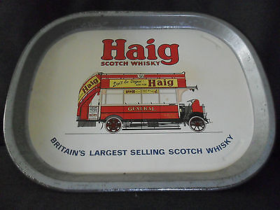 HAIG Scotch Whiskey Bar TRAY VINTAGE COLLECTABLE