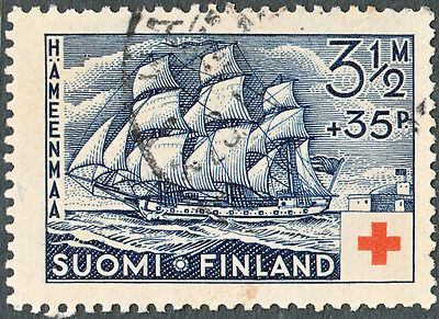 Finland 1937 3½Mk+35p Red Cross Fund Used