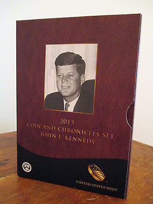 2015 Coin & Chronicles -  - John F Kennedy  U.S. Mint