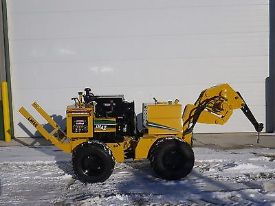 1997 Vermeer LM42 Vibratory Drop Plow Ditch Witch 410SX 966 Hours