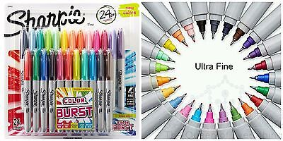 Sharpie 24 Assorted Fine/ Ultra Fine Tip Limited Edition Permanent Markers