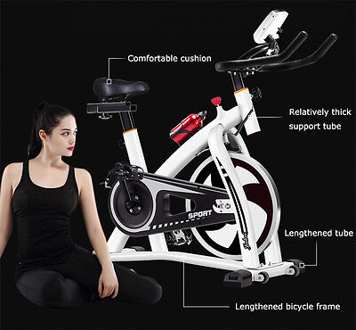 Home Cardio Exercise Bike Cycle Gym Magnetic Trainer  Fitness Workout Pro Machin