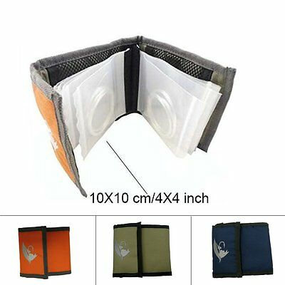 Aventik High Grade10 Clear Pocket Leader Wallet Size 4*4 inch/ Tapered Case