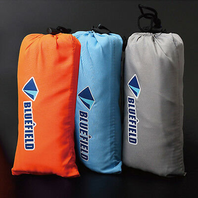Silk Sleeping Bag Liner Single Orange White Blue