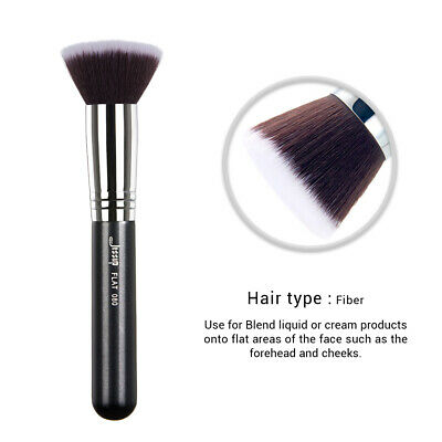 1X Black High Quality Material Makeup Brushes Pro Face Cheek Brush Flat Brush