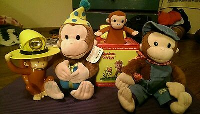 Curious George Toy Lot