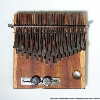 32 Key Shona Njari Mbira/Thumb Piano/Kalimba handmade in Zimbabwe Ships from USA