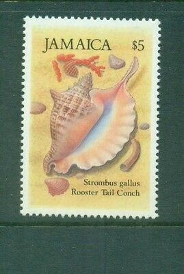 Jamaica 1987 $5 Rooster Tail Conch Sea Shell SG671 MNH