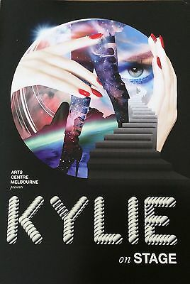 NEW!!!! Kylie Minogue 'On Stage' Exhibit Catalogue & Flyer Beautifully Presented