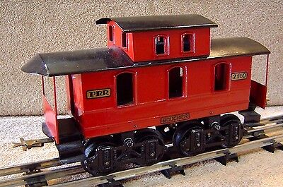 Standard Gauge Boucher 2110 Red Caboose,  Reproduction, Excellent