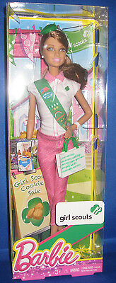 Mattel Barbie Collector Barbie  Girl Scouts Brunette, New Mib
